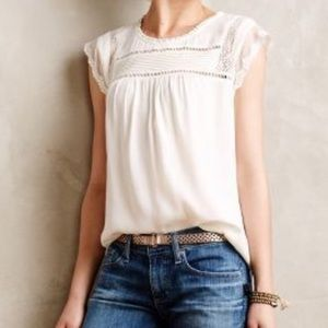 Anthropologie Meadow Rue Nellore Blouse Small